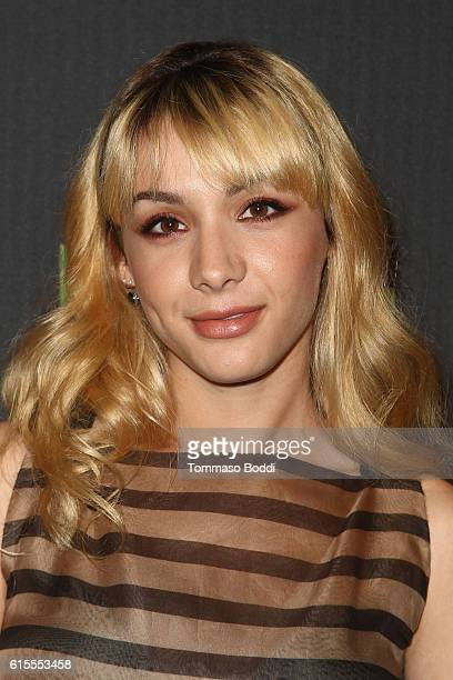 Hannah Marks attends the PaleyLive LA 'Dirk Gently's Holistic Detective Agency' premiere screening and conversation at The Paley Center for Media on...