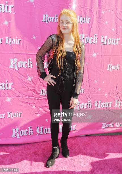 Hannah McCloud attends Rock Your Hair Presents 'Rock Your Summer' Party and Concert on June 3 2017 in Los Angeles California