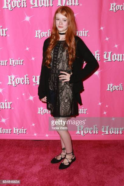 Hannah McCloud attends Rock Your Hair presents 'Valentine's Rocks' at The Avalon Hotel on February 11 2017 in Los Angeles California