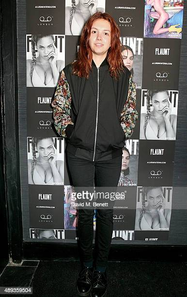 Hannah Murray attends the Flaunt Magazine and Luisaviaroma celebrate the release of the CALIFUK issue during London Fashion Week at Tape London on...