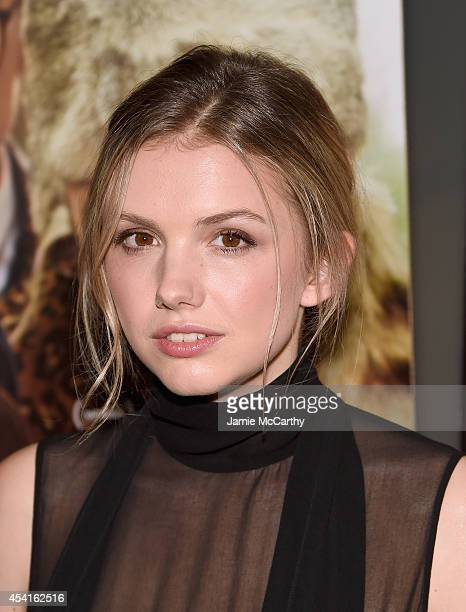 Hannah Murray attends the 'God Help The Girl' New York Special Screening at Nitehawk Cinema on August 25 2014 in New York City