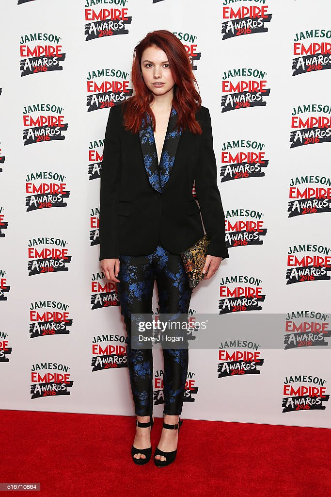 Hannah Murray attends the Jameson Empire Awards 2016 at The Grosvenor House Hotel on March 20 2016 in London England