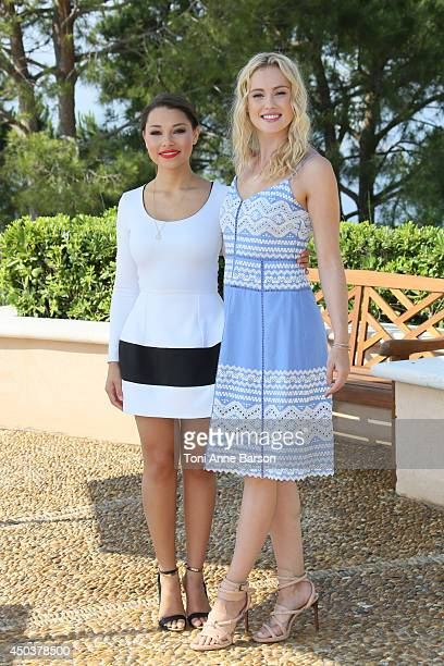 Hannah New and Jessica Parker Kennedy attend 'Black Sails' Photocall at the Grimaldi Forum on June 10 2014 in MonteCarlo Monaco