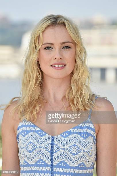 Hannah New attends a photocall for the TV Show ' Black Sails' as part of the 54th MonteCarlo Television Festival on June 10 2014 in MonteCarlo Monaco