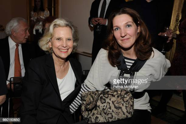 Hannah Pakula Kara Baker attend Pierre Vimont French Ambassador to the US Hosts a Reception in HONOR of SIDNEY LUMET at a private venue on January 29...