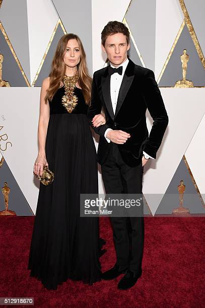 Hannah Redmayne and actor Eddie Redmayne attend the 88th Annual Academy Awards at Hollywood Highland Center on February 28 2016 in Hollywood...