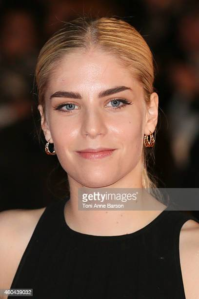 Hannah Reid of London Grammar arrives at the 16th NRJ Music Awards at the Palais des Festivals on December 13 2014 in Cannes France