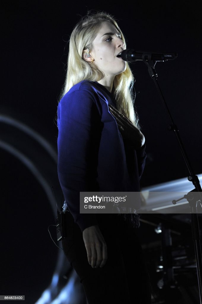 London Grammar Perform At Eventim Apollo