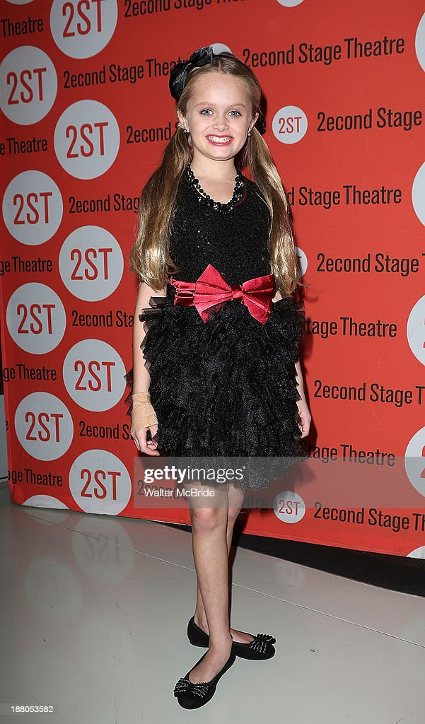 Hannah Rose Nordberg attends the after party for the opening night production of 'Little Miss Sunshine' at Yotel on November 14, 2013 in New York City.