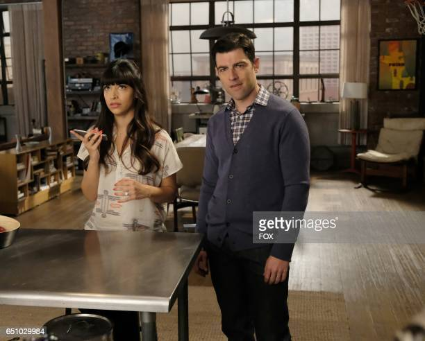 Hannah Simone and Max Greenfield in the 'Misery' episode of NEW GIRL airing Tuesday March 21 on FOX