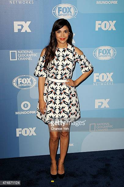 Hannah Simone attends 2015 FOX Programming Presentation at Wollman Rink Central Park on May 11 2015 in New York City