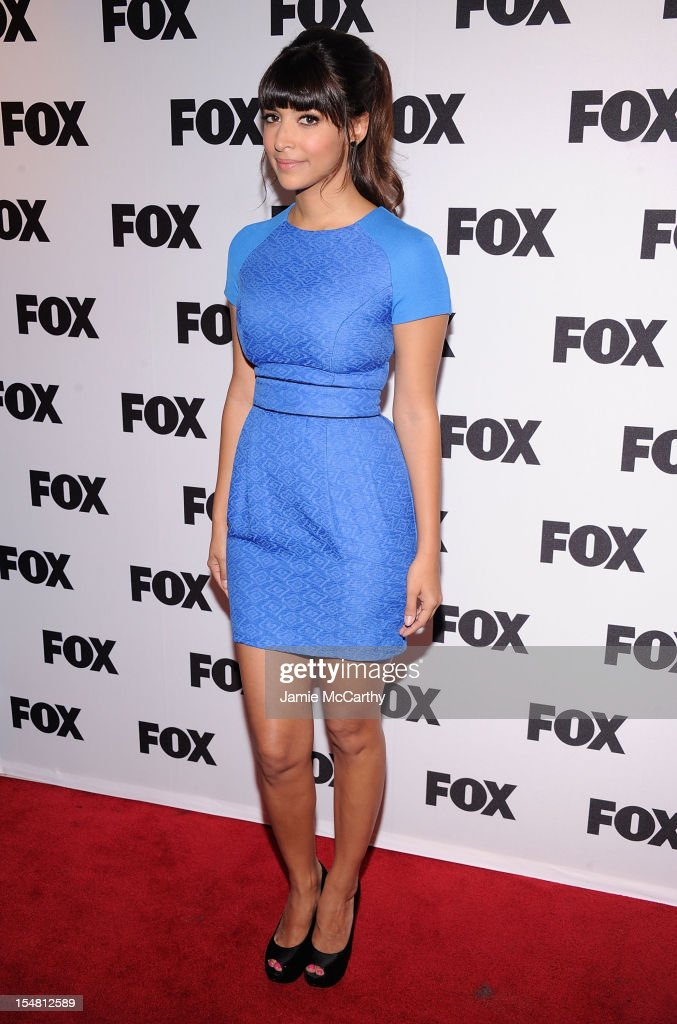 Hannah Simone attends Fox's New Tuesday: A Comedy Conversation at 92Y Tribeca on October 26, 2012 in New York City.