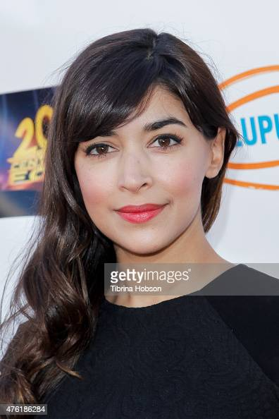 Hannah Simone attends Lupus LA's Orange Ball A Night of Superheroes at Fox Studio Lot on June 6 2015 in Century City California