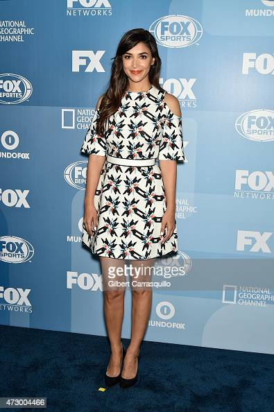 Hannah Simone attends the 2015 FOX Programming Presentation at Wollman Rink Central Park on May 11 2015 in New York City