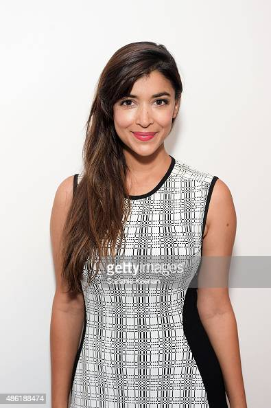 Hannah Simone attends The A List 15th Anniversary Party on September 1 2015 in Beverly Hills California