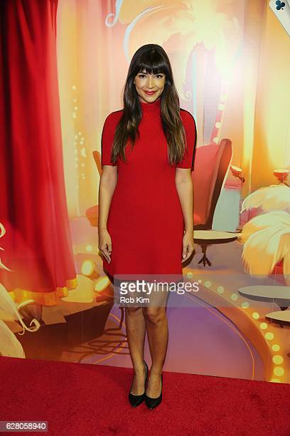 Hannah Simone attends the 'America's Next Shuffle Cat' Auditions at Marquee on December 6 2016 in New York City