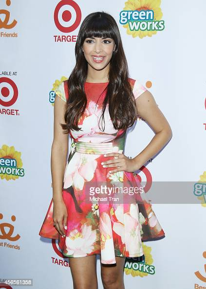Hannah Simone attends the Video Premiere Party to benefit Best Friends Animal Society held at Palihouse Holloway on October 2 2014 in West Hollywood...