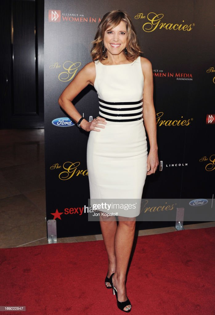 Hannah Storm arrives 38th Annual Gracie Awards Gala at The Beverly Hilton Hotel on May 21, 2013 in Beverly Hills, California.