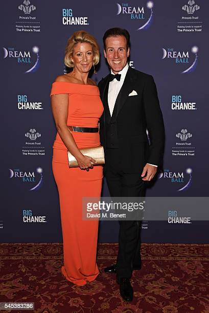 Hannah Summers and Anton du Beke attend The Dream Ball in aid of The Prince's Trust and Big Change at Lancaster House on July 7 2016 in London United...
