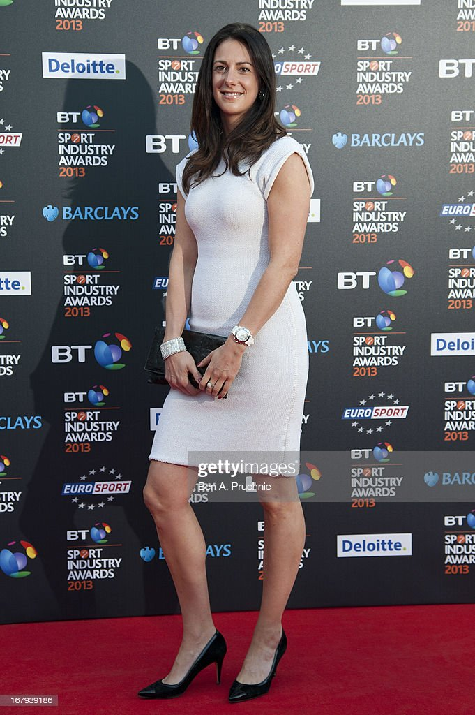 Hannah White attends the BT Sports Industry awards at Battersea Evolution on May 2, 2013 in London, England.