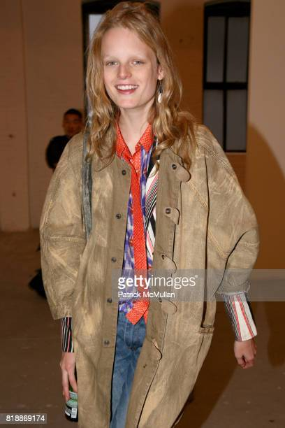 Hanne Gaby attends 'The Transformation of ENRIQUE MIRON as El Diablo' by PAUL ROWLAND at 548 W 22nd St on April 29 2010 in New York