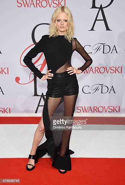 Hanne Gaby Odiele attends the 2015 CFDA Fashion Awards at Alice Tully Hall at Lincoln Center on June 1 2015 in New York City