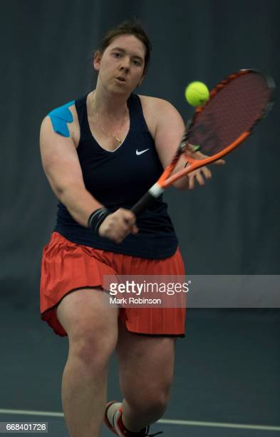 Hanne Lavreysen of Belgium during her Women's Final Match at the INAS Learning Disability International on April 14 2017 in Bolton England