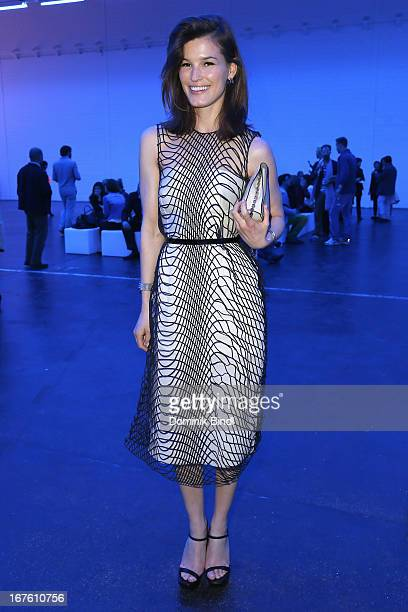 Hanneli Mustaparta attends Calvin Klein Watches Jewelery Party At Baselworld 2013 at Dreispitzhalle on April 26 2013 in Basel Switzerland