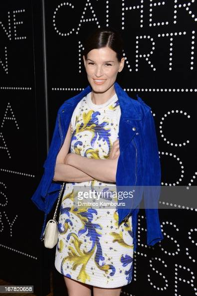 Hanneli Mustaparta attends Catherine Martin And Miuccia Prada Dress Gatsby Opening Cocktail on April 30 2013 in New York City