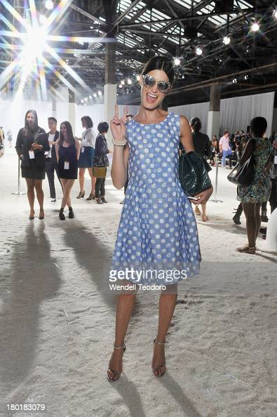 Hanneli Mustaparta attends the 31 Phillip Lim show during Spring 2014 MercedesBenz Fashion Week at Skylight at Moynihan Station on September 9 2013...