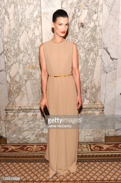 Hanneli Mustaparta attends the 4th Annual amfAR Inspiration Gala New York at The Plaza Hotel on June 13 2013 in New York City