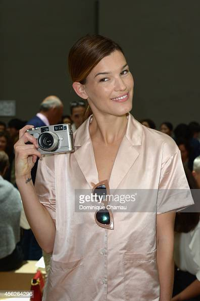 Hanneli Mustaparta attends the Chloe show as part of the Paris Fashion Week Womenswear Spring/Summer 2015 on September 28 2014 in Paris France