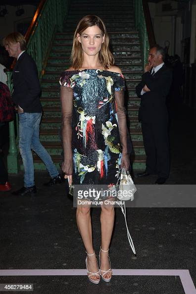 Hanneli Mustaparta attends the Givenchy show as part of the Paris Fashion Week Womenswear Spring/Summer 2015 on September 28 2014 in Paris France