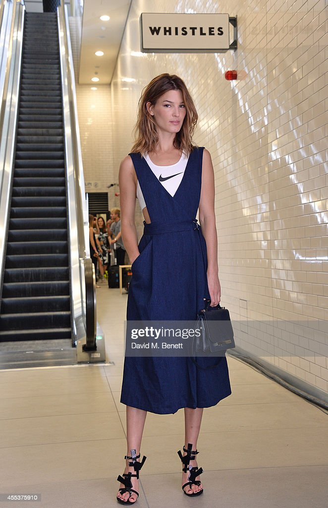 Hanneli Mustaparta attends the Whistles SS 2015 presentation during London Fashion Week at Kings Cross Tunnel on September 13 2014 in London England