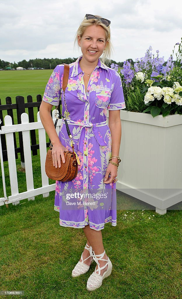 Hanneli Rupert attends the Cartier Queen's Cup Polo Day 2013 at Guards Polo Club on June 16, 2013 in Egham, England.