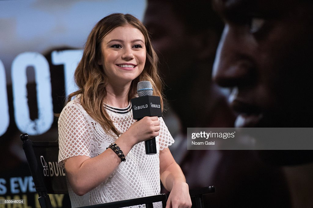 G Hannelius visits AOL Build to discuss her role in 'Roots' at AOL Studios In New York on May 24, 2016 in New York City.