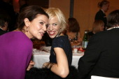 Hannelore Elsner and Katja Eichinger attend the German Film Ball 2014 on January 18 2014 in Munich Germany
