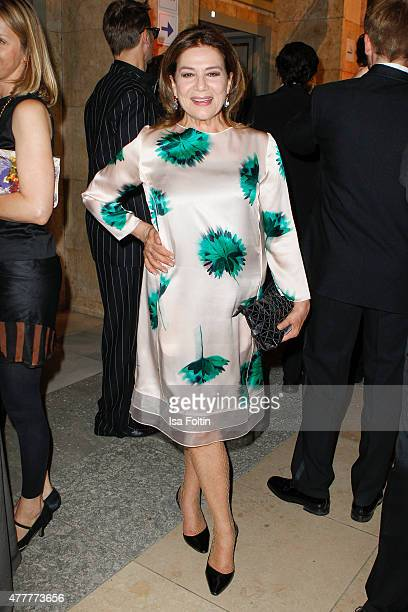 Hannelore Elsner attends the German Film Award 2015 Lola at Messe Berlin on June 19 2015 in Berlin Germany