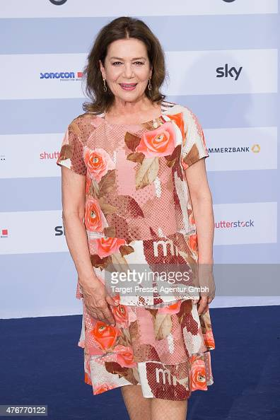 Hannelore Elsner attends the producer party 2015 of the Alliance German Producer Cinema And Television on June 11 2015 in Berlin Germany