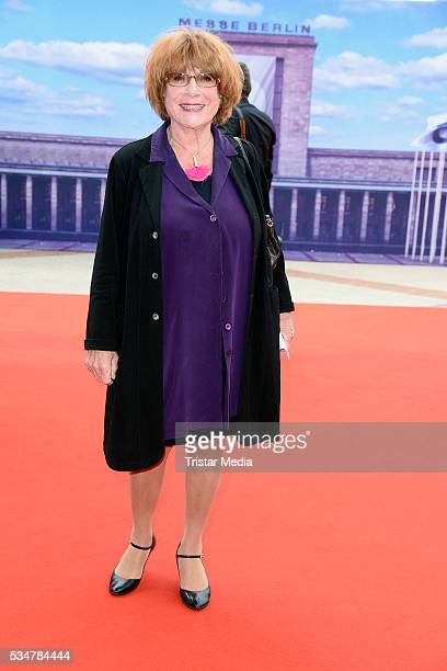 Hannelore Hoger attends the Lola German Film Award 2016 Red Carpet Arrivals on May 27 2016 in Berlin Germany