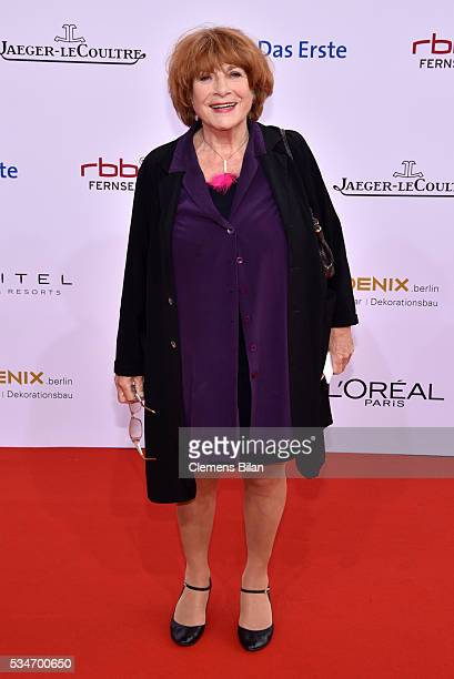 Hannelore Hoger attends the Lola German Film Award on May 27 2016 in Berlin Germany