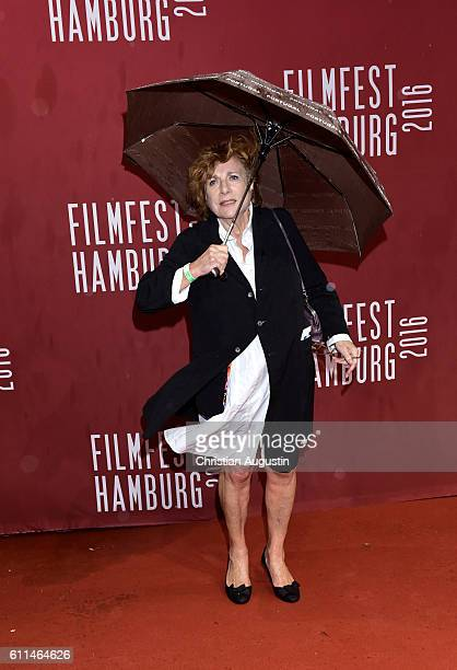 Hannelore Hoger attends the premiere of 'Amerikanisches Idyll' during the opening night of Hamburg Film Festival 2016 on September 29 2016 in Hamburg...