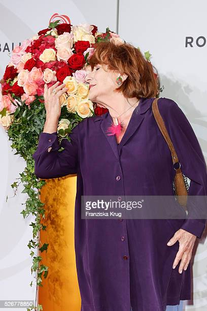 Hannelore Hoger attends the Rosenball 2016 on April 30 in Berlin Germany