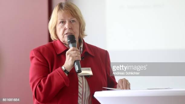 Hannelore Ratzeburg during the DFB Leadership Programm on September 22 2017 in Frankfurt am Main Germany