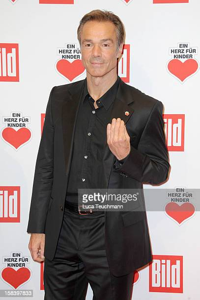 Hannes Jaenicke attends 'Ein Herz Fuer Kinder Gala 2012' Red Carpet Arrivals at Axel Springer Haus on December 15 2012 in Berlin Germany