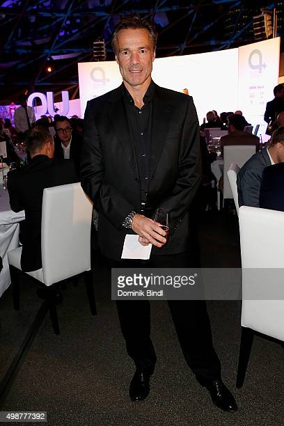 Hannes Jaenicke attends the Querdenker Award 2015 at BMW World on November 25 2015 in Munich Germany