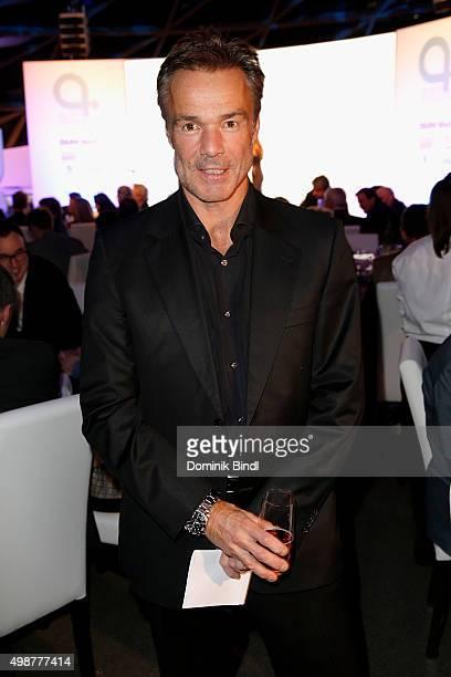 Hannes Jaenicke attends the Querdenker Award 2015 at BMW World on November 25 2015 in Munich Germany