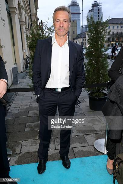 Hannes Jaenicke during the Maxdome launch of the new entertainment world at Filmcasino on April 13 2016 in Munich Germany
