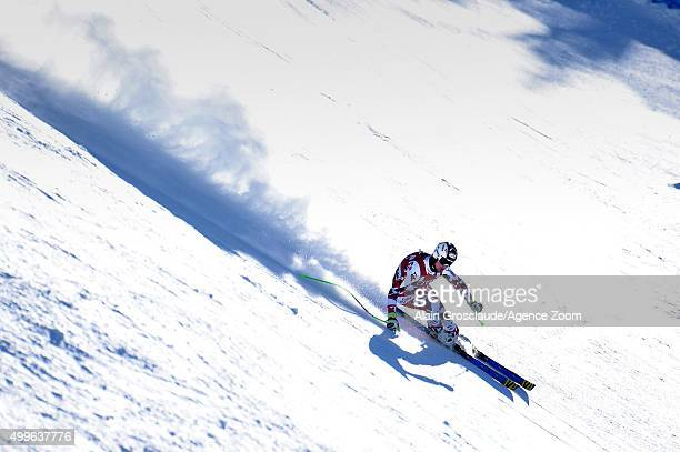 Hannes Reichelt of Austria competes during the Audi FIS Alpine Ski World Cup Men's Downhill Training on December 02 2015 in Beaver Creek Colorado