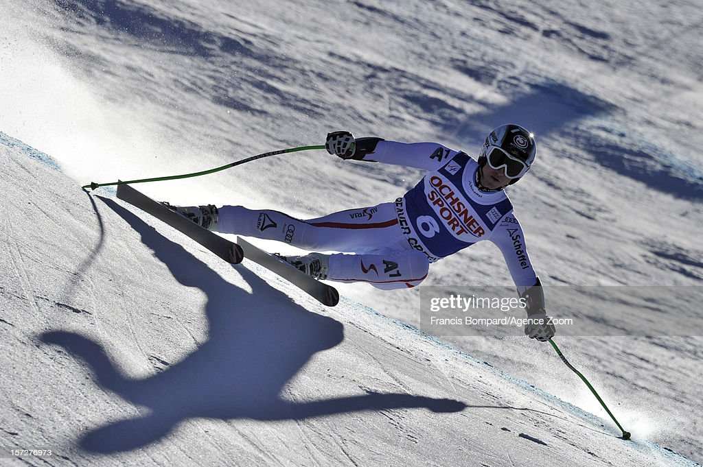 <a gi-track='captionPersonalityLinkClicked' href=/galleries/search?phrase=Hannes+Reichelt&family=editorial&specificpeople=791419 ng-click='$event.stopPropagation()'>Hannes Reichelt</a> of Austria during the Audi FIS Alpine Ski World Cup Men's Super G on December 1, 2012 in Beaver Creek, Colorado.